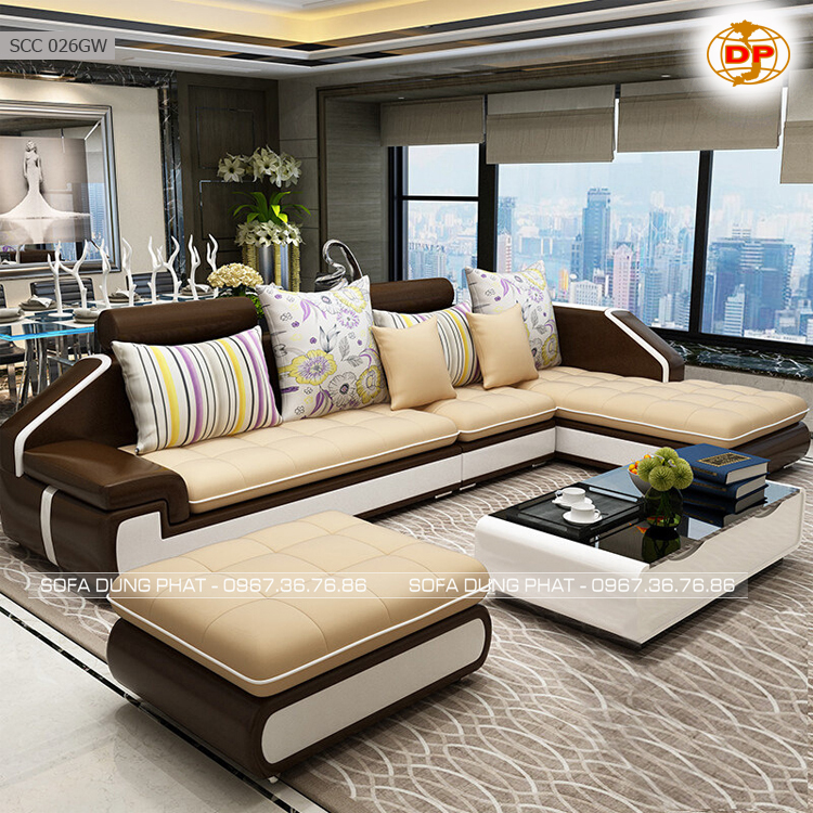 Sofa Cao Cấp DP-SCC 026GW