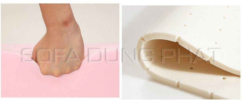 Nệm mút D40 sản xuất sofa tình yêu