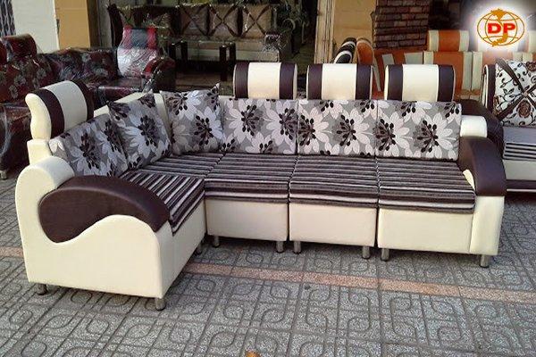 Ghế sofa giá rẻ hoa văn đẹp NT -GR 01