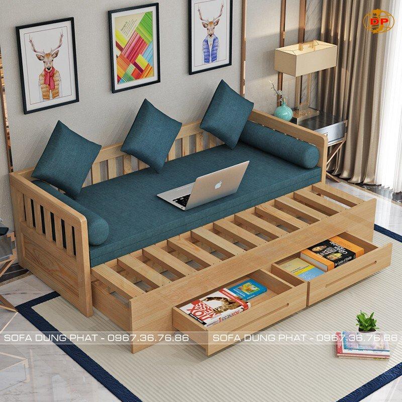 sofa giường 2m có ngăn kéo
