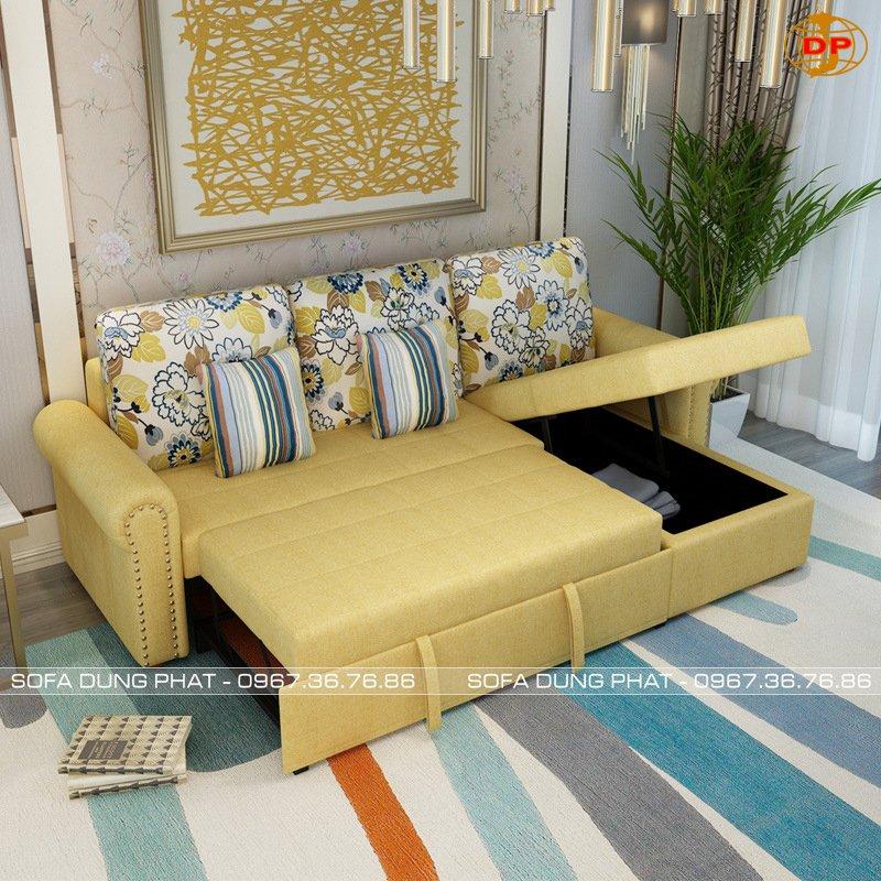 sofa giường góc tiện nghi