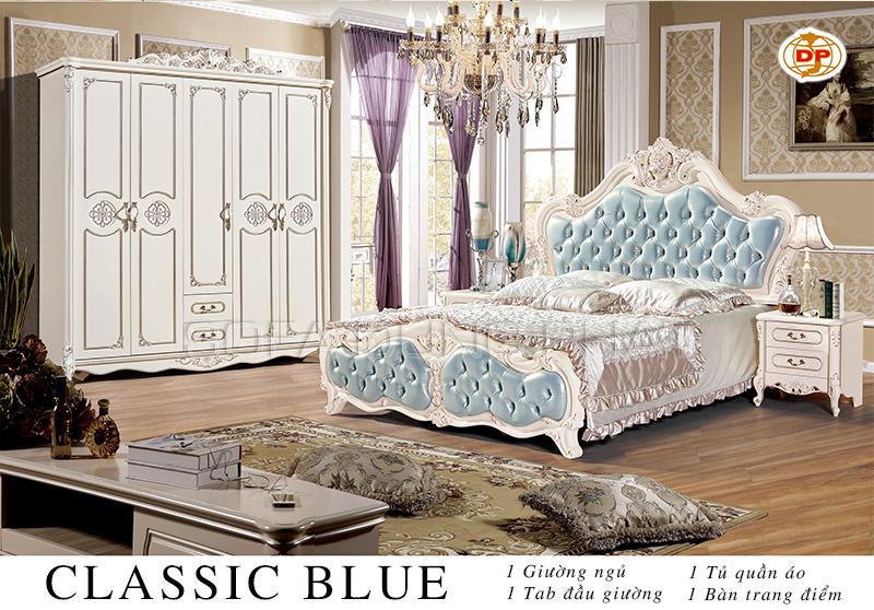 Combo Phòng Ngủ Classic Blue giá rẻ