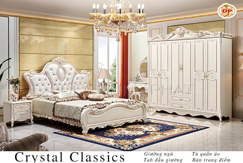 Mua Combo Phòng Ngủ Crystal Classics