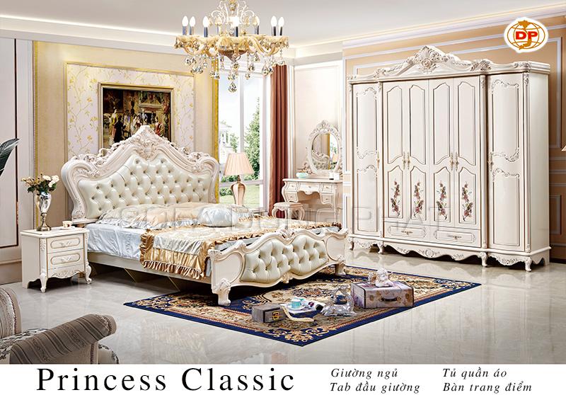 Combo Phòng Ngủ Princess Classic đẹp