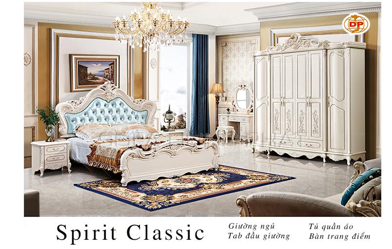 Combo Phòng Ngủ Spirit Classic đẹp