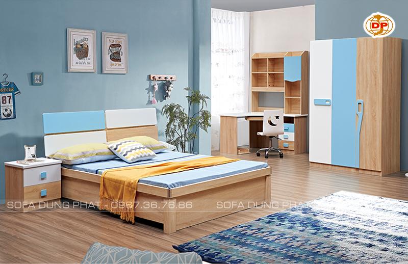 Combo Phòng Ngủ White & Blue giá rẻ